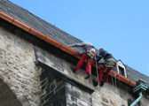 Dachsicherung auch ohne Gerüst
