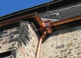 Wiederaufbau von orignialhistorischen Dachentwässerungen