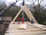 Zimmermannsarbeiten Obermühle